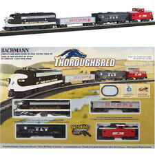 Bachmann 00691 Thoroughbred Starter Electric Train Set HO Scale