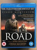 Viggo Mortensen The Road 2009 Poste-Apocalíptico Drama Raro UK Blu-Ray