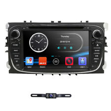 Car DVD Player GPS Navigation Radio for Ford Mondeo Focus S-Max 2007-2011+CAMERA