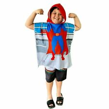 HOODED TOWEL - SUPER BOY