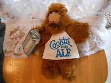 Vintage ALF Chef 11 inch Stuffed Toy from Burger King 1988
