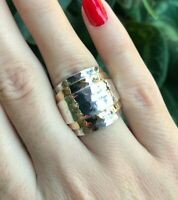 925 Sterling Handmade Gemstone Turkish Silver Ring Size 6-9