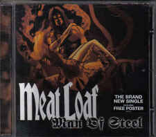 Meat Loaf-Man Of Steel cd maxi single incl Poster
