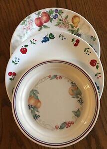 Fruit Corelle Abundance Chutney Cherries & Berries Bowl/ Dessert/ Dinner Plate