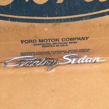 1962 62 NOS Ford Galaxie Country Wagon Station Wagon Ornament C2AZ-7125622-A
