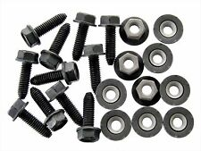 Ford Flange Bolts & Barbed Nuts- M6-1.0mm Thread- 10mm Hex- Qty.10 ea.- #126