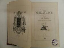 Histoire de Gil Blas de Santillana. Par Le Sage. Vignettes par Jean Gigoux