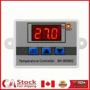 W3002 Digital Temperature Controller 10A Thermostat Control Switch w/ Probe