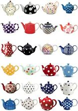 24 Mixed Teapots Spots Large Sticky White Paper Stickers Labels New