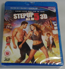 STEP UP 5: ALL IN Brand New 3D BLU-RAY + 2D Blu-Ray 2014 Dance Movie Five