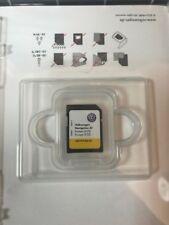 GENUINE VW DISCOVER MEDIA AT SAT NAV NAVIGATION SD CARD EUROPE V10 5G0919866AE
