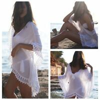 Womens Swimwear Beachwear Bikini Beach Wear Cover Up Kaftan Ladies Summer Dress
