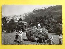 cpsm 39 - COUSANCE (Jura) La FENAISON à Antoine BOURDAT-PARMENIE Ecrivain