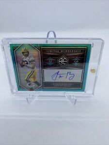 2020 Limited Aaron Rodgers Limited Membership Auto 1/2 SSP