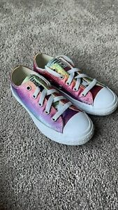 Converse All Star Pride 70 Toddler Size 11 665534C Chuck Taylor Rainbow