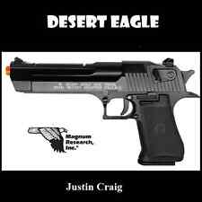 Magnum Research Desert Eagle .50 AE CO2 Airsoft Pistol Blowback Semi Fully Auto