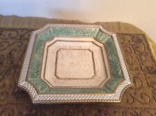 Fitz & Floyd Gregorian Plate / Tray 11� X 11� Square