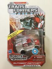 Transformers Prime Robots in Disguise RID Deluxe Class Autobot Ratchet