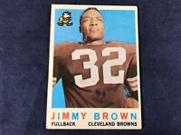 T3-89 FOOTBALL CARD - JIMMY BROWN CLEVELAND BROWNS - CARD #10 - 1959 TOPPS