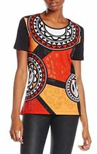 Versace Jeans women's embelished jersey manarola T-shirts size XXS*