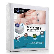 Protège Matelas Imperméable Alèse Bébé Hypoallergenique 60x120cm Anti-Acarien