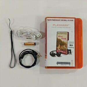 Sweet Tooth By Ian McEwan Unabridged Audiobook Playaway Headphones Battery Aux