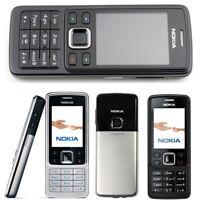 HOT 100% Original Unlocked Nokia 6300 Bar Mobile Cell Phone GSM Camera Bluetooth