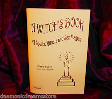 A WITCHES BOOK OF SPELLS, RITUALS & SEX MAGICK Finbarr Occult Magic Black White