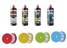 Kit de Lustrage Menzerna Premium - 4 x 250 ml + 4 Pads Premium Menzerna