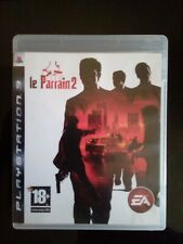 Le parrain 2 the godfather II PlayStation PS3 Complet