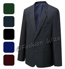 Niño Escuela Chaqueta Americana Negro Azul Marino Marrón Verde Granate Russell