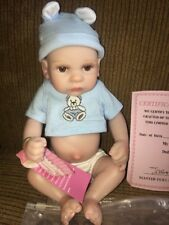 "NPK 11"" NEWBORN REBORN BABY BOY DOLL~ADORABLE~New With Tags"
