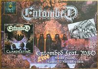 ⭐⭐⭐⭐ Entombed ⭐⭐⭐⭐ Sabaton ⭐⭐⭐⭐1 Poster / Plakat ⭐⭐⭐⭐ 29 cm x 41 cm ⭐⭐⭐⭐⭐