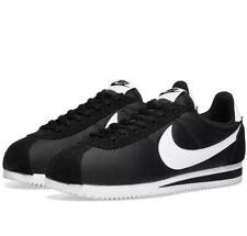 Nike Classic Cortez Nylon og Trainers Mens tamaño de Reino Unido 11.5 807472 011 Negro/Blanco