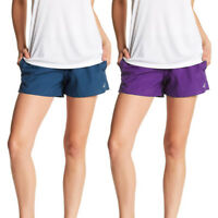 Asics NEW Solid Women's Performance Woven Athletic Shorts $30