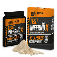 Testosterone Booster - Test Inferno X Advanced Body Building Capsules