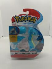 Lapras Pokemon Deluxe Action Battle Feature Figure Wicked Cool Toys S1