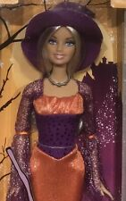 Target Exclusive 2008 Halloween Treat Barbie doll NRFB witch