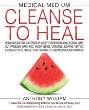 Medical Medium Cleanse to Heal by Anthony William Brand New Hardcover Wt77429