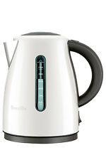NEW Breville Soft Top Clear Kettle:Coconut BKE495CCT