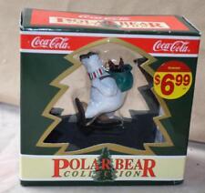 Feder 1994 Coca-Cola Eisbär Sammlung North Stange Lieferung Weihnachten Ornament