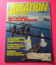 AVIATION HISTORY MAGAZINE SEPT/1997...BILLY MITCHELL; AIR POWER CRUSADER