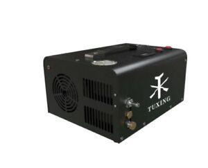 12v PCP Compressor 4500 psi with 220v transformer