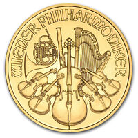 Random Year 1/4 oz Gold Austrian Philharmonic Coin .9999 Fine