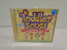 TODDLER SONGS 30 GREAT SING ALONG SONGS New CD 2008 Performed With Kids