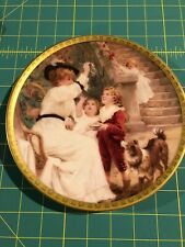 "Lenox Collections Plate, Mother's Day 1993, ""Chasing Bubbles"" w/Coa"