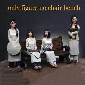 1/35 Resin Female Civilians 4 Ladies No Chair unpainted unassembled 4710