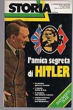 storia illustrata - numero speciale marzo 1979 - l'amica segreta di Hitler