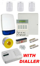 Wired Burglar Alarm 9651 System PROFESSIONAL Kit LCD Keypad PIRs + Auto Dialler