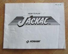 Jackal NES Instruction Manual